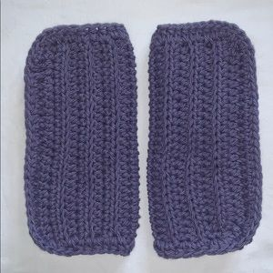 Other - Lot of Two Purple 100% Cotton Crocheted Cloths